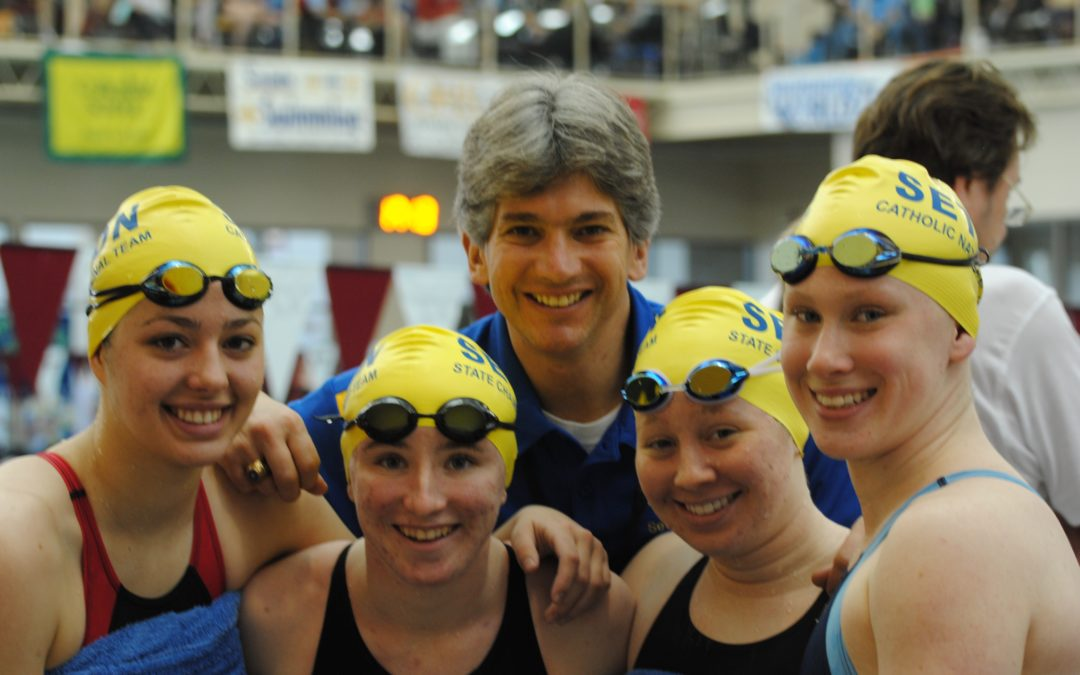 Arlington Catholic Herald-Seton Swimmers Dominate State Champs