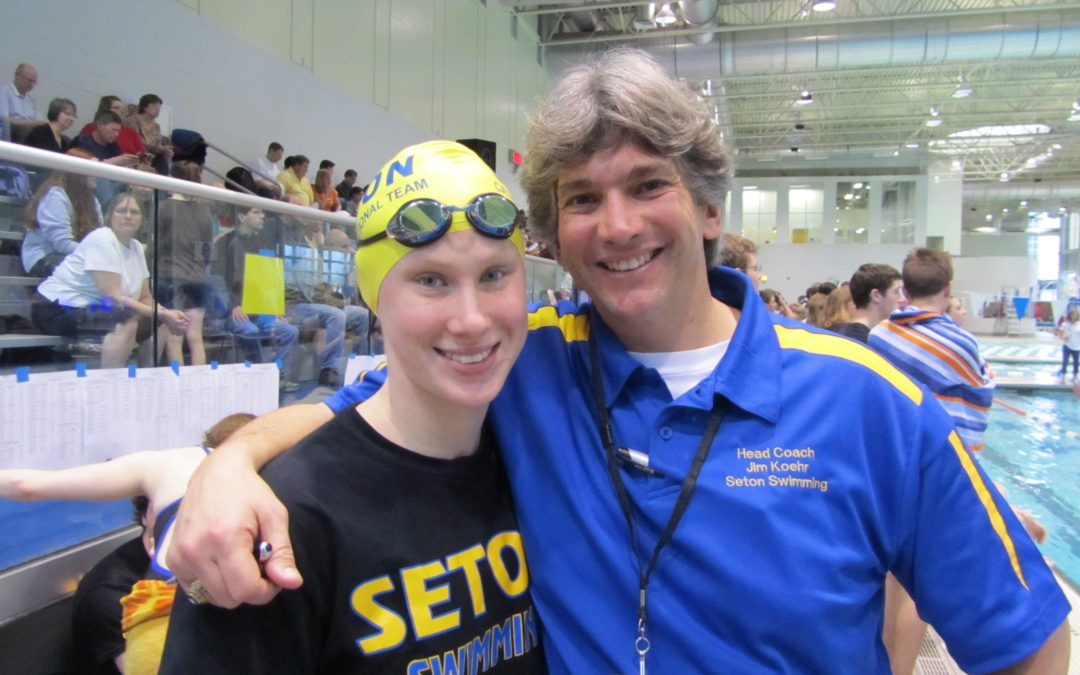 InsideNova-Seton swimmer Cat Rogers Shines in the Pool