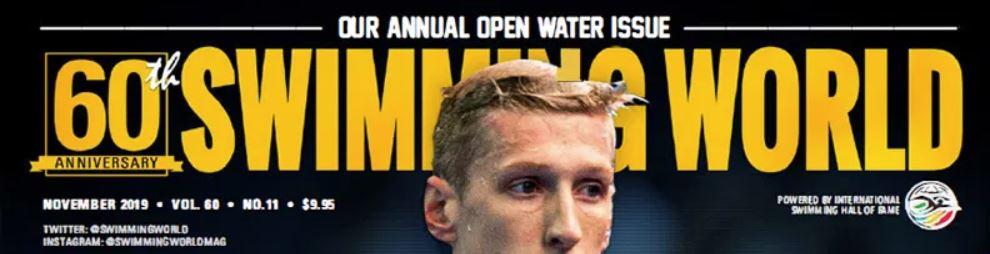 Swimming World Magazine Profile of Seton Swimming, November 2019