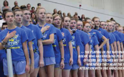 Why and How Seton Swimming Respects our National Anthem and Colors